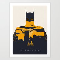 movie poster Art Prints featuring Movie Poster by Inno Theme