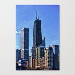 Structures Canvas Print