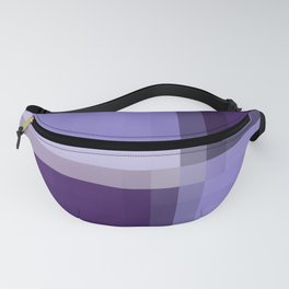 Shades Of Purple Fanny Pack