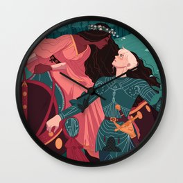 The Beautiful Lady Without Mercy  Wall Clock