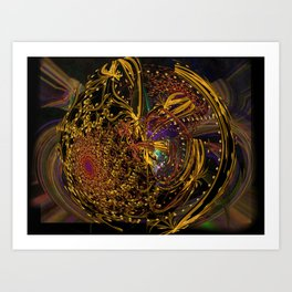 Doin' the Cosmic Boogie Art Print