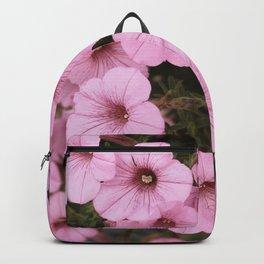Sweet Pink Flowers (Vintage Petunias) Backpack