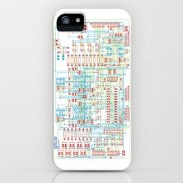 Circuit Design 1 iPhone Case