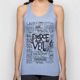 Pierce The Veil Music Band Group Fabric Art Cloth Poster Unisex Tank Top