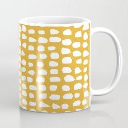 Dots / Mustard Coffee Mug