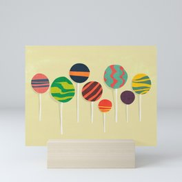 Sweet lollipop Mini Art Print