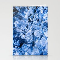 ice Stationery Cards featuring Ice by digital2real