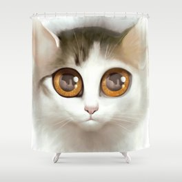 Kitten 3 Shower Curtain