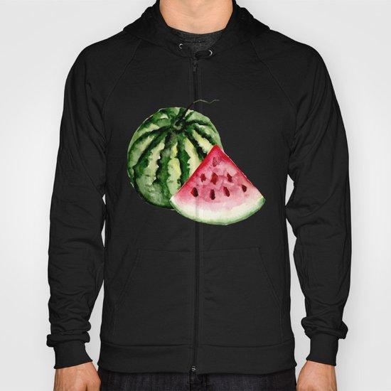 Watermelon pattern. Hoody