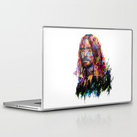 jared leto Laptop & iPad Skins featuring Jared Leto by ururuty