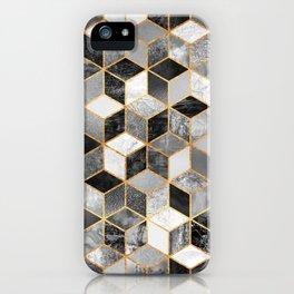 Black & White Cubes iPhone Case
