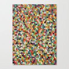 Patchwork of colors Canvas Print