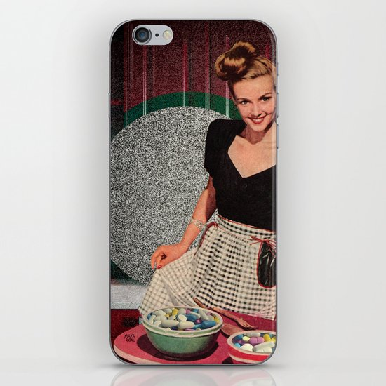 plastic makes life easy iPhone & iPod Skin