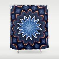 buddha Shower Curtains featuring Buddha by Julie Maxwell