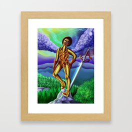 Colored Victory Framed Art Print