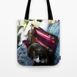 The Cat and the Fiddle (Gracie Queen of Chicago Collection) Tote Bag