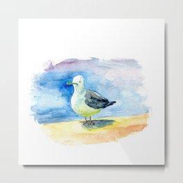 Dumb seagull Metal Print