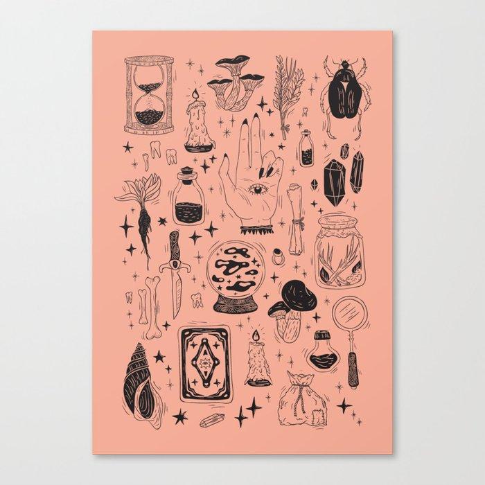 Witchcraft Canvas Print