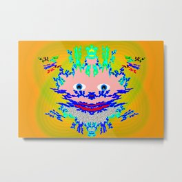 Keep smiling! Metal Print