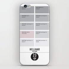 PANTONE glossary - Iceland - Hellnar iPhone & iPod Skin