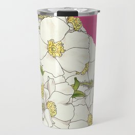 Georgia in Flowers Travel Mug