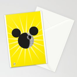 The New Death Star Stationery Cards