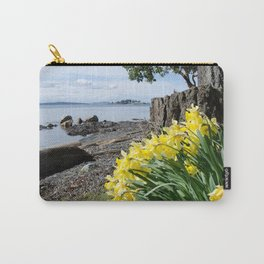 DAFFODILS OF SPRING IN THE SAN JUAN ISLANDS Carry-All Pouch