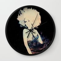 et Wall Clocks featuring ET by  Maʁϟ