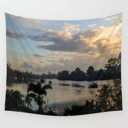 Morning on the Mary - Maryborough QLD Wall Tapestry