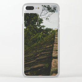 Kathmandu City Roof Tops - Architecture 02 Clear iPhone Case