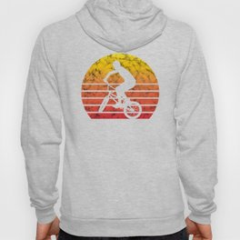 BMX Bike Biker Bicycle Retro Love Life Gift Hoody