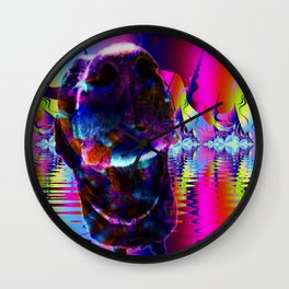 Sniff Sniff Wall Clock