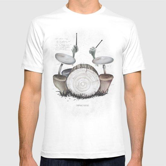 Mushroom drums T-shirt