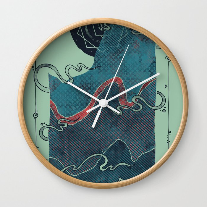 Northern Nightsky Wall Clock