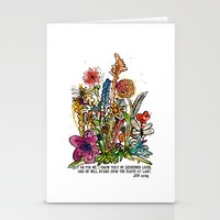 scripture Stationery Cards featuring Floral Watercolor with Scripture by Megan Schreurs