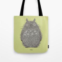 Avocado Totoro Tote Bag