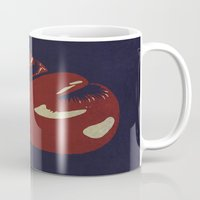 boxing Mugs featuring Power Boxing by Lucas Scialabba :: Palitosci