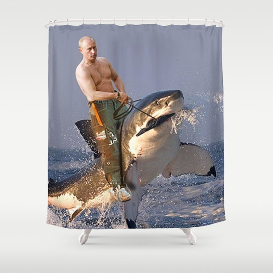 Vladimir Putin Funny Meme Shower Curtain By Jacarroll Society6