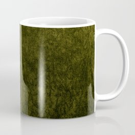 olive green velvet | texture Coffee Mug