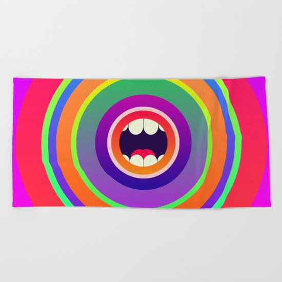 Jawbreaker Beach Towel