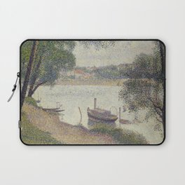 Gray weather, Grande Jatte Laptop Sleeve