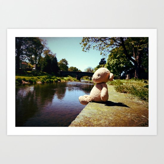 Lazing on a Sunny Afternoon Art Print