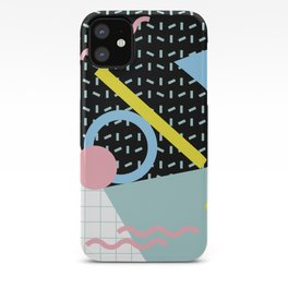 Memphis Pattern 6 - 80s - 90s - Retro iPhone Case