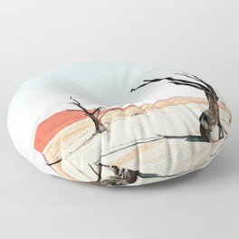 Deadvlei III Floor Pillow