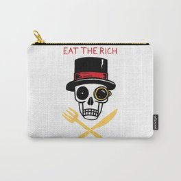 EAT THE RICH Carry-All Pouch
