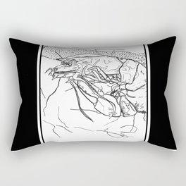 Shrimp Rectangular Pillow