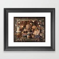 Rucus Studio Pumpkin Society Masquerade Ball Framed Art Print