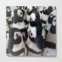 The March of the Penquins Metal Print