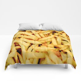 French Fries Comforters