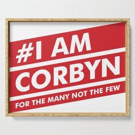 I Am Corbyn Serving Tray